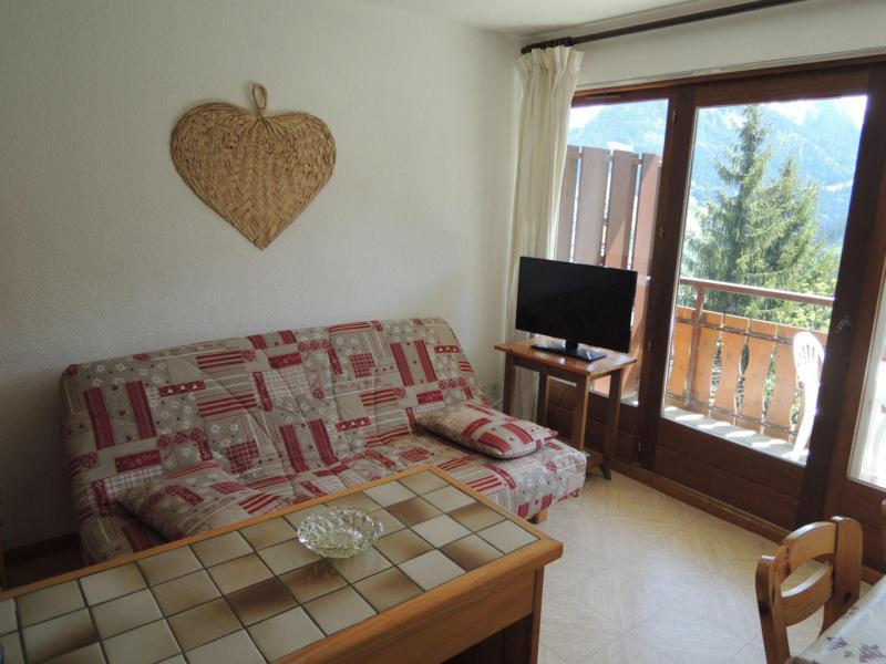 Location au ski Appartement 2 pièces coin montagne 4 personnes (BBB4) - Les Chalets de Barbessine - Châtel - Canapé