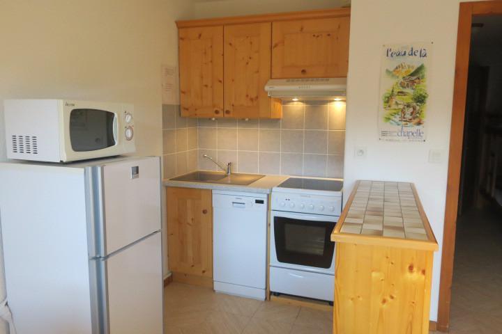 Location au ski Appartement 2 pièces coin montagne 4 personnes (BBB4) - Les Chalets de Barbessine - Châtel - Cuisine