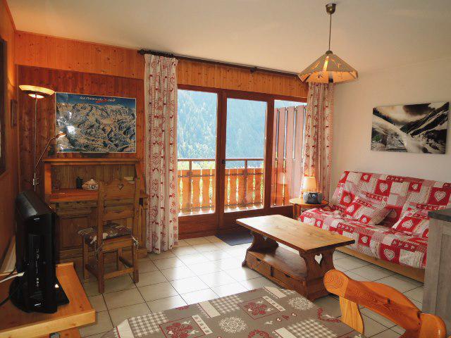 Location au ski Appartement 3 pièces 6 personnes (BBC5) - Les Chalets de Barbessine - Châtel - Table