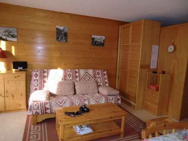 Location au ski Studio coin montagne 4 personnes - Résidence Chambron - Châtel - Séjour