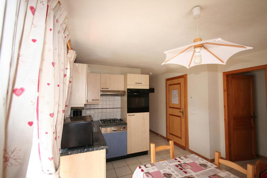 Rent in ski resort 3 room apartment 6 people (3) - Résidence Echo des Montagnes - Châtel - Kitchenette