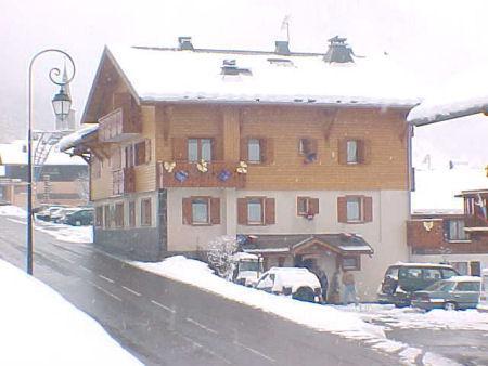Rent in ski resort Résidence Echo des Montagnes - Châtel - Winter outside