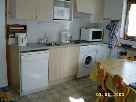Wynajem na narty Apartament 3 pokojowy 6 osób (17) - Résidence Fuchsia - Châtel - Aneks kuchenny