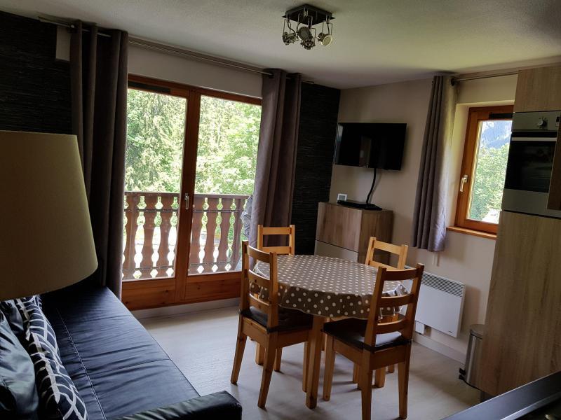 Location au ski Appartement 2 pièces coin montagne 5 personnes (05) - Résidence Fuchsia - Châtel - Séjour