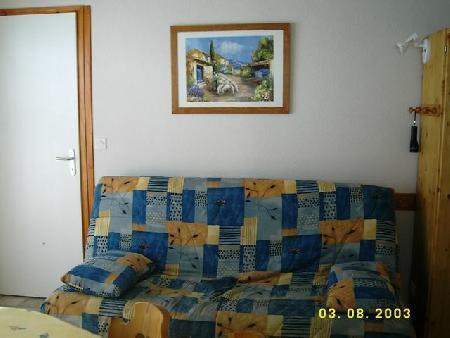 Location au ski Appartement 3 pièces 6 personnes (17) - Résidence Fuchsia - Châtel - Séjour