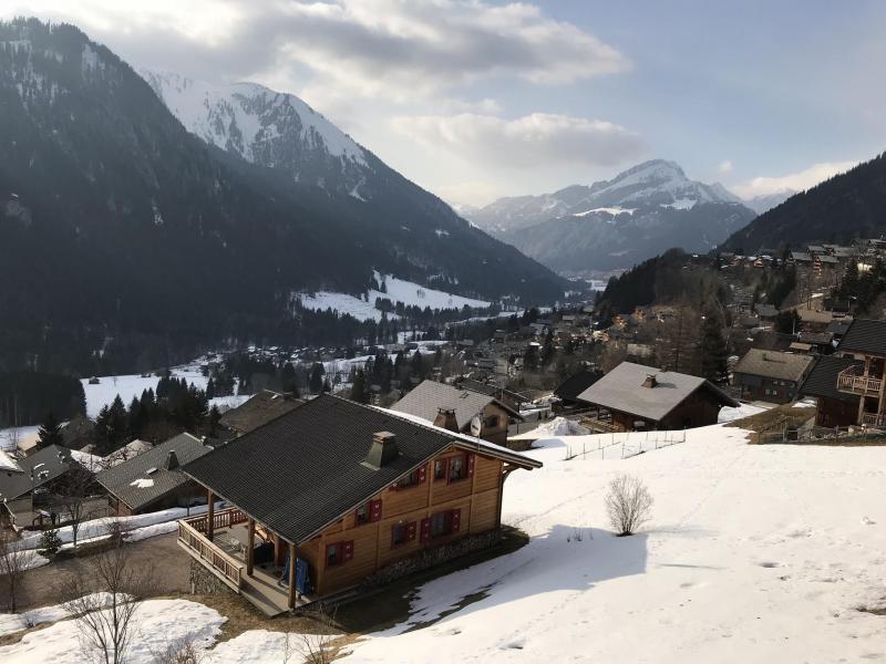 Wakacje w górach Apartament duplex 3 pokojowy 6 osób (021A) - Résidence Hameau des Quatre Saisons - Châtel - Zima na zewnątrz