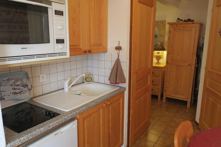 Location au ski Appartement 2 pièces mezzanine 5 personnes (D16) - Résidence l'Alpage - Châtel - Cuisine