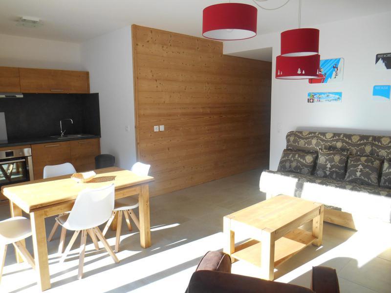 Wakacje w górach Apartament 3 pokojowy 6 osób (B201) - Résidence l'O Rouge - Châtel - Zima na zewnątrz