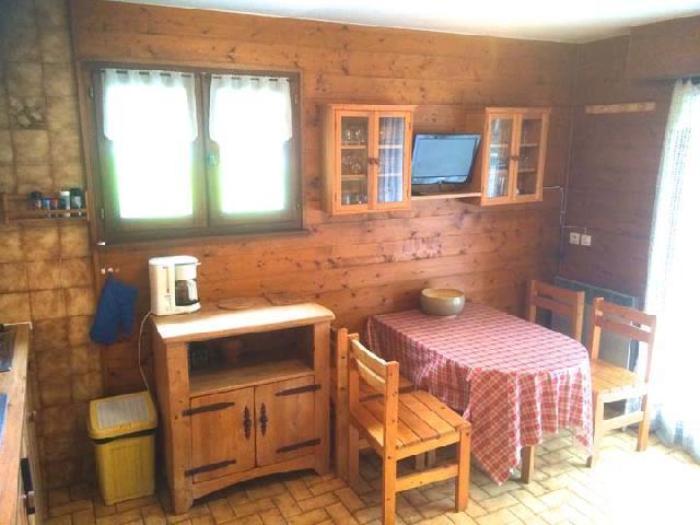 Location au ski Appartement 2 pièces coin montagne 5 personnes - Résidence l'Orée des Pistes - Châtel - Table