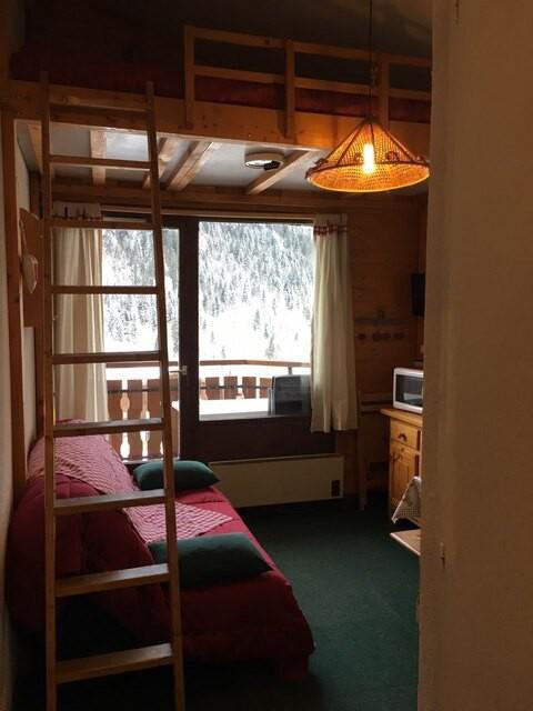 Аренда на лыжном курорте Квартира студия мезонин 3 чел. (17A) - Résidence la Toison Blanche - Châtel