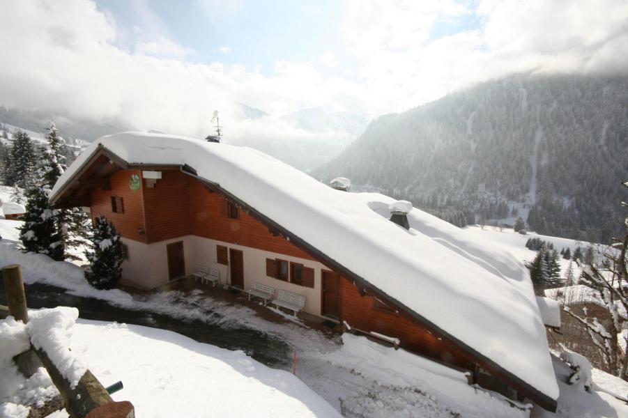 Vacaciones en montaña Résidence le Balcon des Alpes - Châtel - Invierno