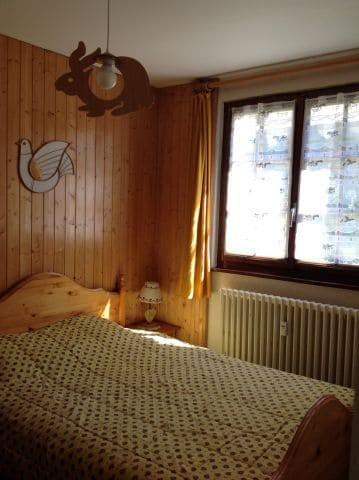 Rent in ski resort 2 room apartment 5 people (001) - Résidence le Caribou - Châtel - Bedroom