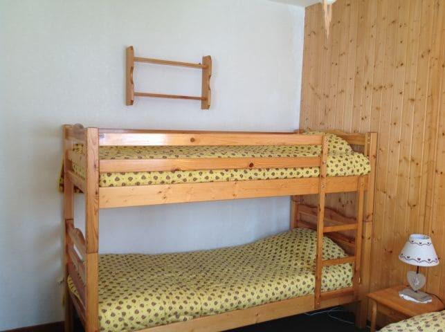 Rent in ski resort 2 room apartment 5 people (001) - Résidence le Caribou - Châtel - Bunk beds