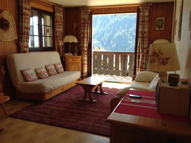 Rent in ski resort 2 room apartment 5 people (001) - Résidence le Caribou - Châtel