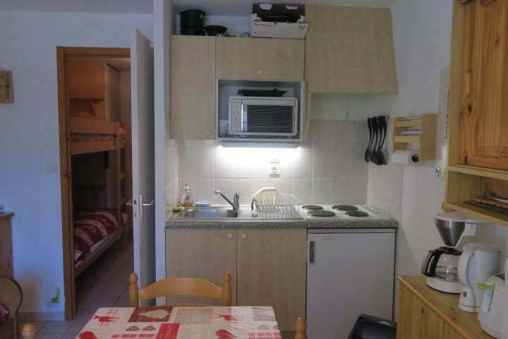 Location au ski Appartement 2 pièces 5 personnes (CR34) - Résidence le Christina - Châtel - Kitchenette