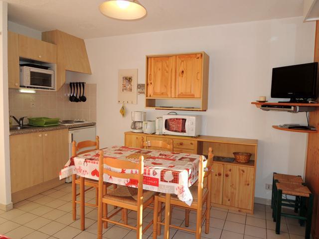Location au ski Appartement 2 pièces 5 personnes (CR34) - Résidence le Christina - Châtel - Table
