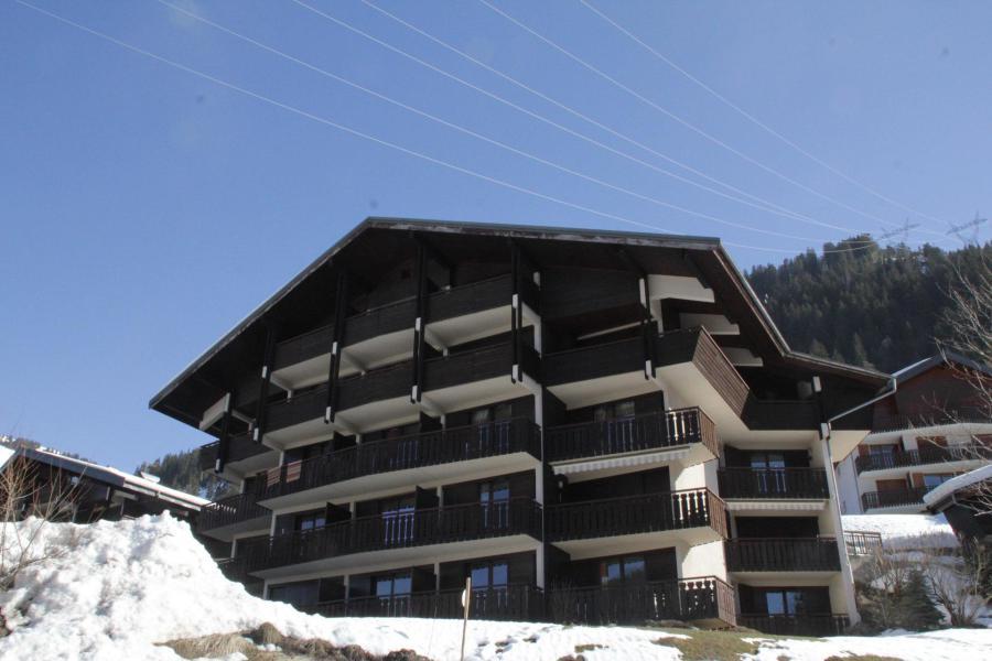 Location au ski Résidence le Corinna - Châtel - Extérieur hiver