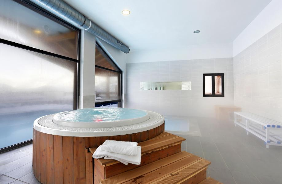 Location au ski Residence Le Grand Ermitage - Châtel - Jacuzzi