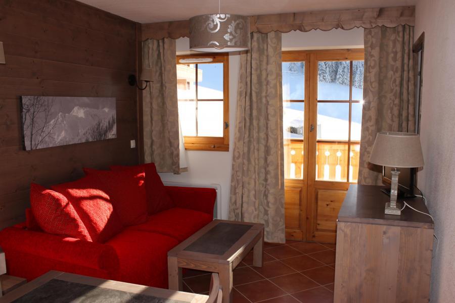 Location au ski Residence Le Grand Lodge - Châtel - Coin séjour