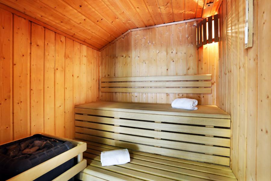 Location au ski Residence Le Grand Lodge - Châtel - Sauna