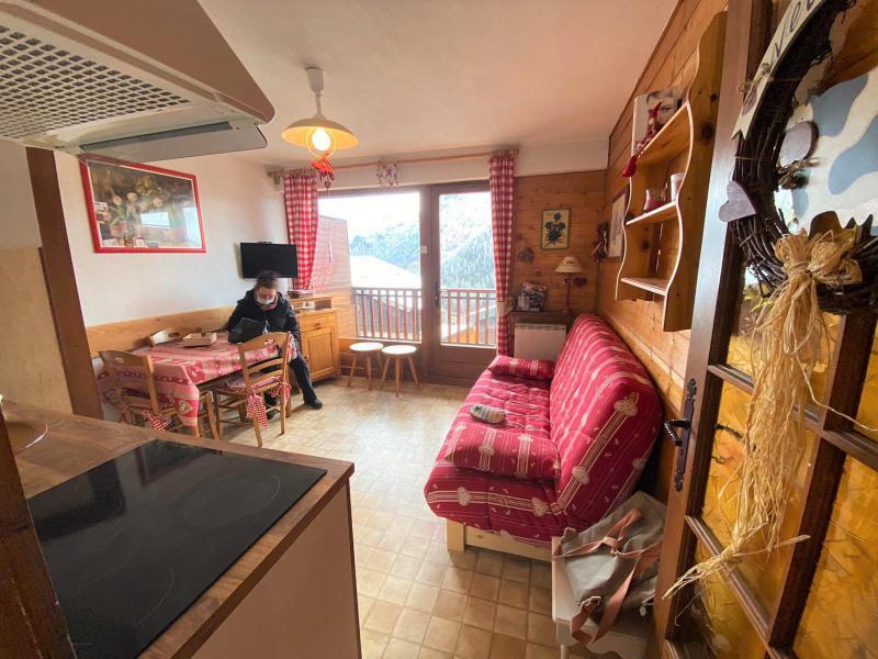 Location au ski Appartement 2 pièces 4 personnes (JR9) - Résidence le Joran - Châtel - Kitchenette