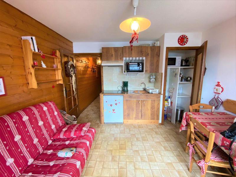 Location au ski Appartement 2 pièces 4 personnes (JR9) - Résidence le Joran - Châtel - Séjour