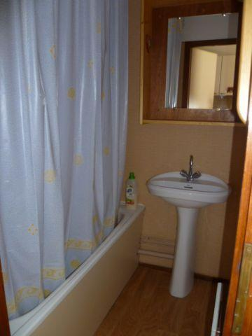 Rent in ski resort 2 room apartment 4 people (202) - Résidence le Linga - Châtel - Bath-tub