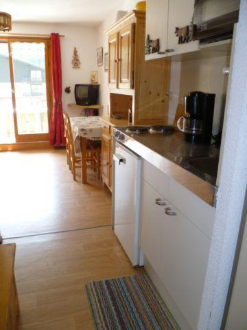 Rent in ski resort 2 room apartment 4 people (202) - Résidence le Linga - Châtel - Cabin