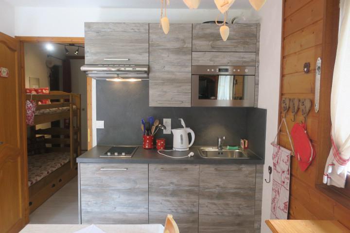 Location au ski Appartement 2 pièces 4 personnes (A8) - Résidence le Mermy - Châtel - Cuisine