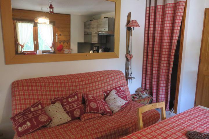 Location au ski Appartement 2 pièces 4 personnes (A8) - Résidence le Mermy - Châtel - Séjour