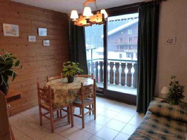 Location au ski Appartement 2 pièces 4 personnes (156) - Résidence le Moulin - Châtel - Table