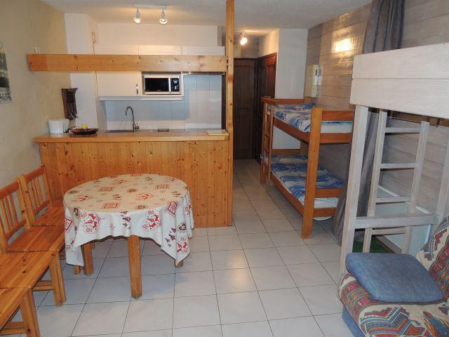 Аренда на лыжном курорте Квартира студия со спальней для 3 чел. (180) - Résidence le Moulin - Châtel - Салон