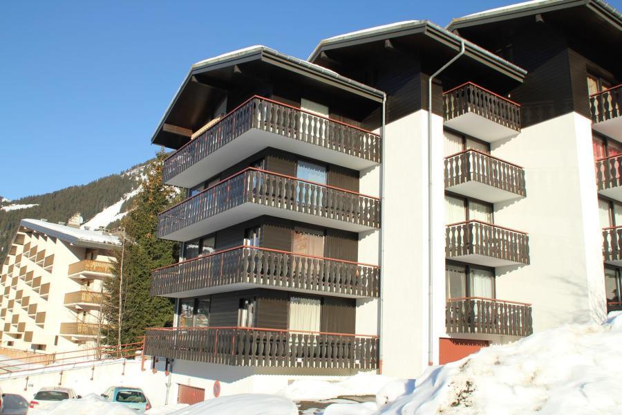 Vacances en montagne Résidence le Sylvia - Châtel - Extérieur hiver