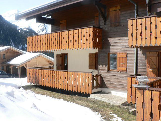 Vacaciones en montaña Estudio para 4 personas - Résidence le Terroit - Châtel - Invierno