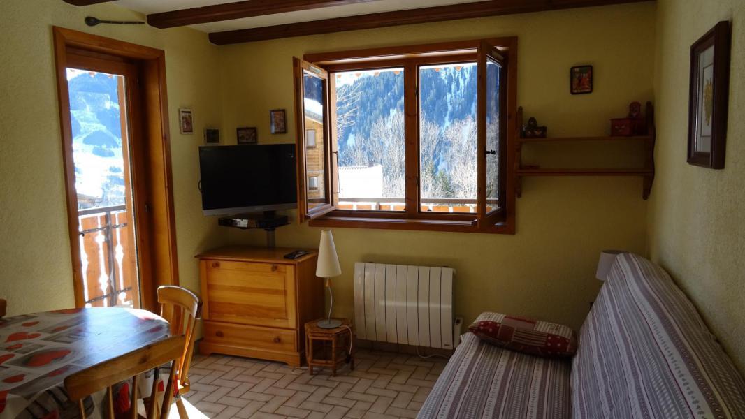 Аренда на лыжном курорте Квартира студия для 4 чел. - Résidence le Terroit - Châtel - апартаменты