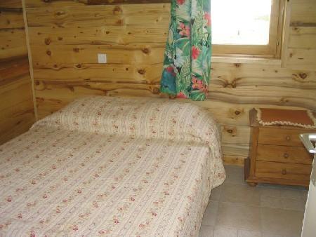 Ski verhuur Appartement 2 kamers 5 personen (A4) - Résidence le Val Pierre - Châtel - 2 persoons bed