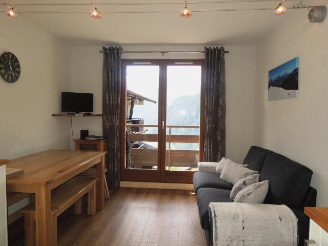 Location au ski Appartement 2 pièces coin montagne 4 personnes (9B6) - Résidence le Yéti - Châtel - Séjour