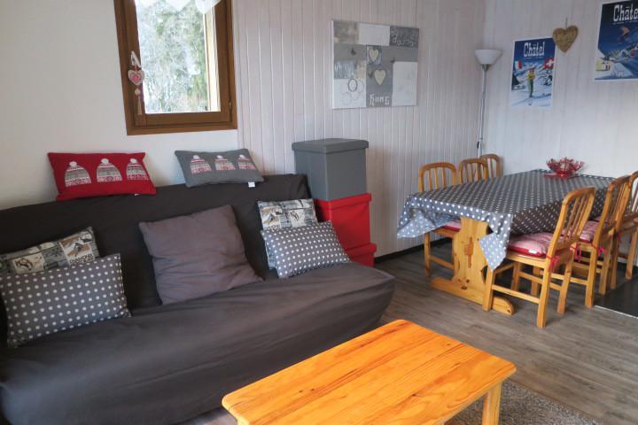 Location au ski Appartement 2 pièces coin montagne 6 personnes (B6) - Résidence le Yéti - Châtel - Séjour