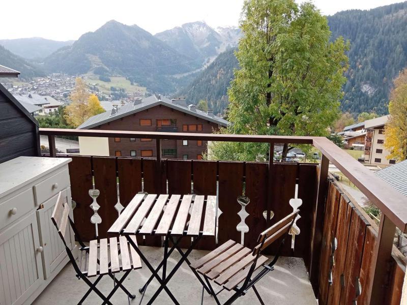 Location au ski Studio coin montagne 4 personnes (56B4) - Résidence le Yéti - Châtel - Balcon