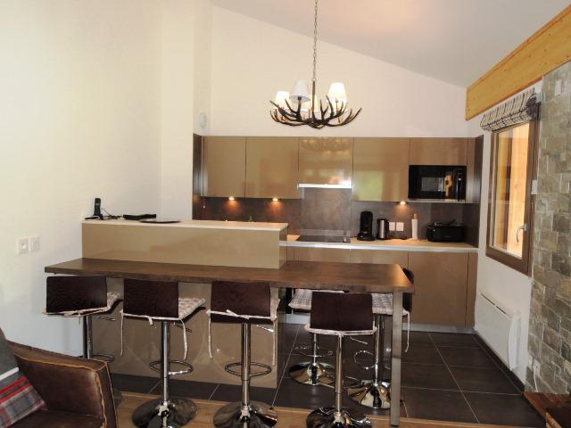 Rent in ski resort 4 room duplex apartment 6 people (A32) - Résidence les 4 Eléments - Châtel - Kitchen
