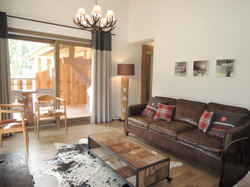 Rent in ski resort 4 room duplex apartment 6 people (A32) - Résidence les 4 Eléments - Châtel - Settee