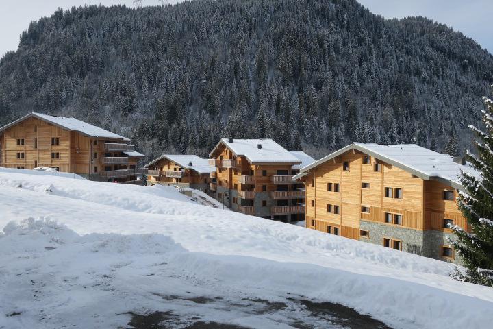 Vacaciones en montaña Résidence les 4 Eléments - Châtel - Invierno