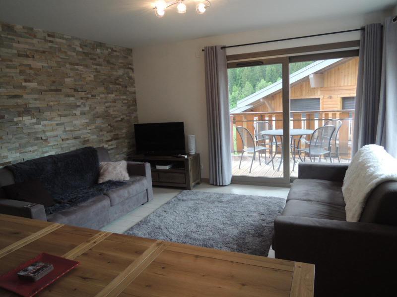 Location au ski Appartement 3 pièces coin montagne 6 personnes (A14) - Résidence les 4 Eléments - Châtel - Canapé