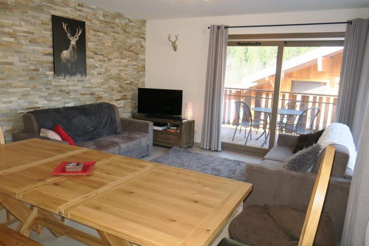 Location au ski Appartement 3 pièces coin montagne 6 personnes (A14) - Résidence les 4 Eléments - Châtel - Séjour