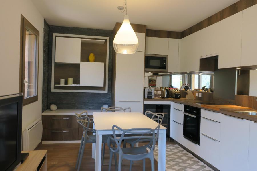 Location au ski Appartement 3 pièces coin montagne 6 personnes (B205) - Résidence les 4 Eléments - Châtel - Cuisine