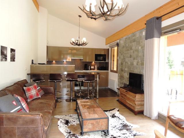 Location au ski Appartement duplex 4 pièces 6 personnes (A32) - Résidence les 4 Eléments - Châtel - Coin séjour