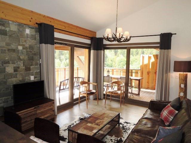 Location au ski Appartement duplex 4 pièces 6 personnes (A32) - Résidence les 4 Eléments - Châtel - Séjour