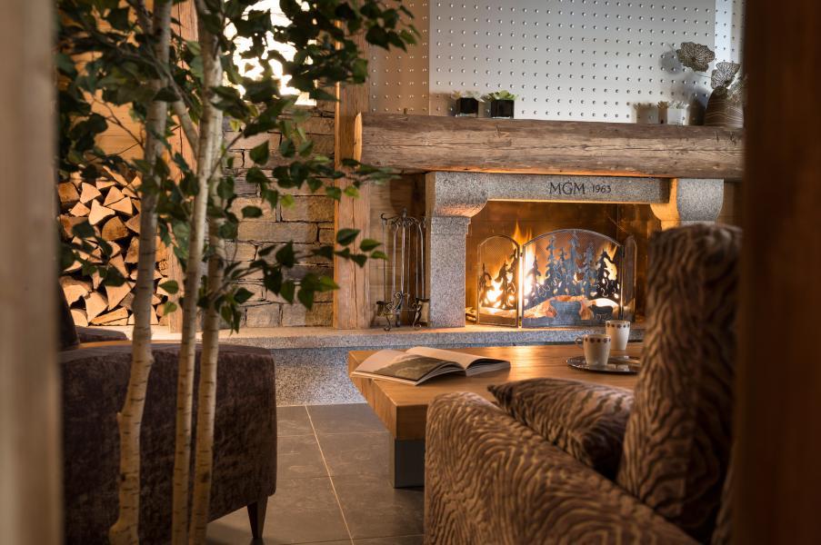 Location au ski Residence Les Chalets D'angele - Châtel - Cheminée