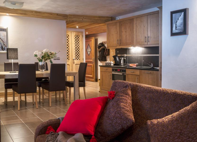 Location au ski Residence Les Chalets D'angele - Châtel - Cuisine ouverte