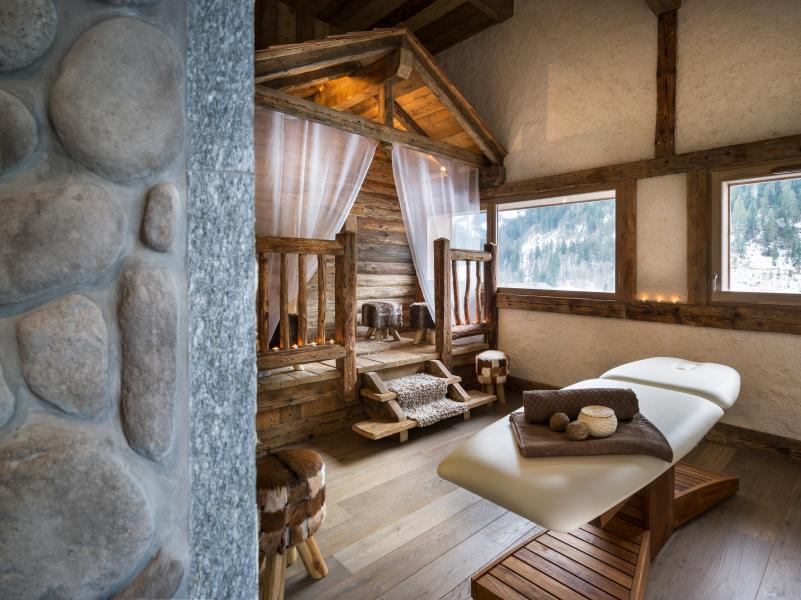 Location au ski Residence Les Chalets D'angele - Châtel - Massage